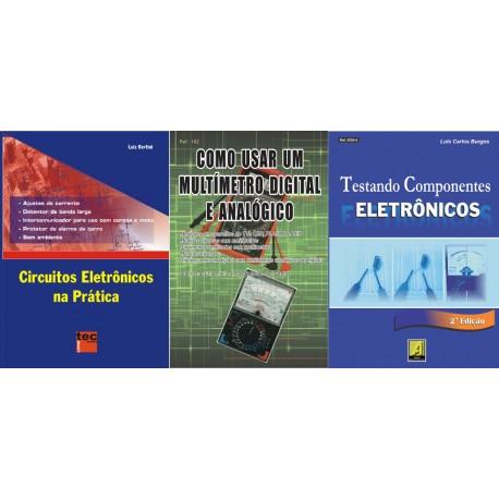 Livros Aprendendo Eletrônica Nível 1