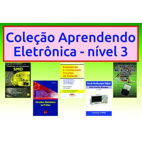 Livros Aprendendo Eletrônica Nível 3