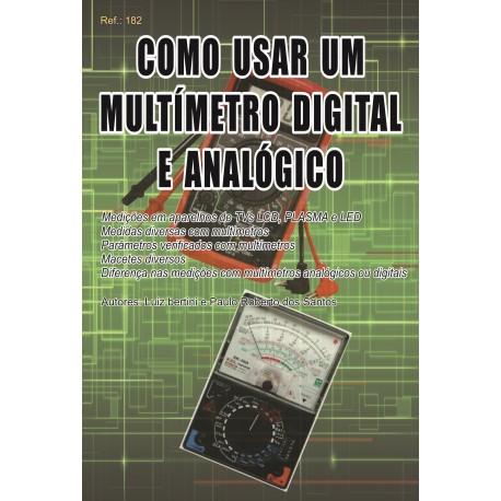 Livro Como Usar um Multímetro Digital e Analógico