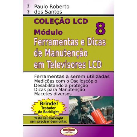 Ferramentas e Dicas de Manutenção em TVs LCD Vol.08