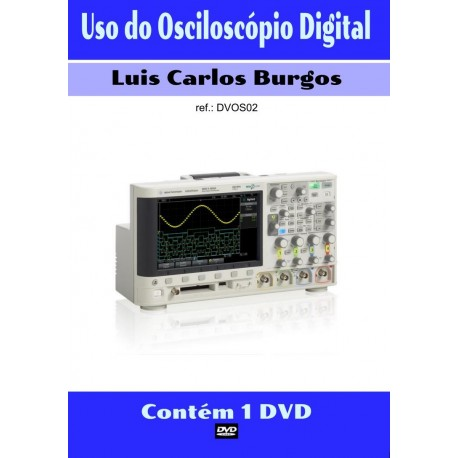 DVD aula Uso do Osciloscópio Digital