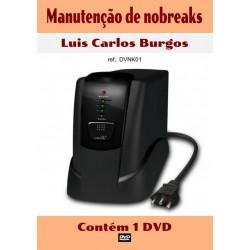 DVD aula Manutenção de Nobreak
