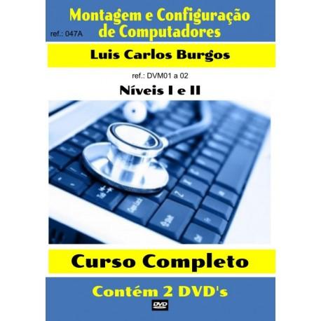 DVD aula Montagem e Configuração de PC