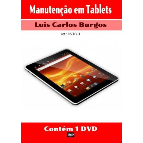 DVD aula Manutenção em Tablets