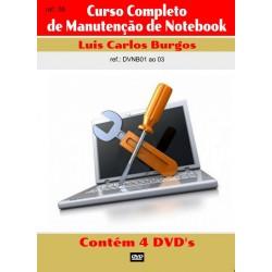DVD aula Manutenção em Notebook