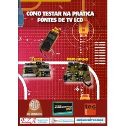 DVD aula Como Testar na Prática Fontes de TVs LCD