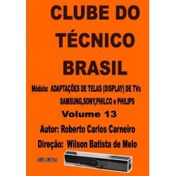DVD aula Adaptações de Telas(Display)de TVs Samsung,Sony,Philco e Philips