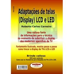 Livro Adaptações de Telas(Display) LCD e LED