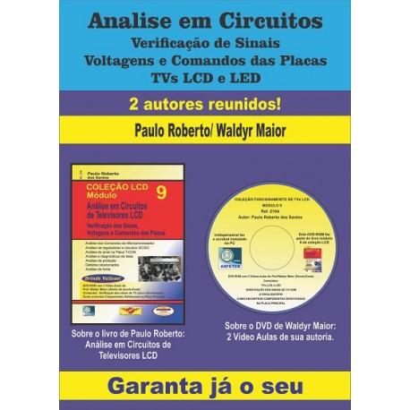Análise em Circuitos de TVs LCD Vol.09