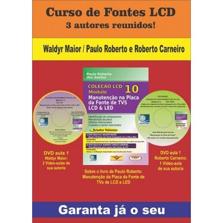 Livro Manutenção na Placa da Fonte de TVs LCD e LED