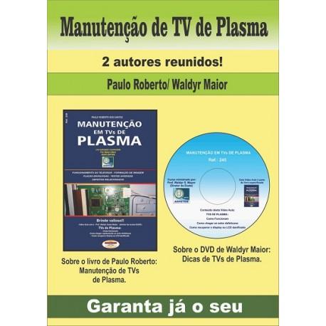 Livro Manutenção em TVs de Plasma