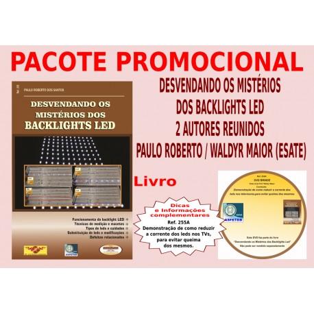 Livro Desvendando os Mistérios dos Backlights LED e DVD aula