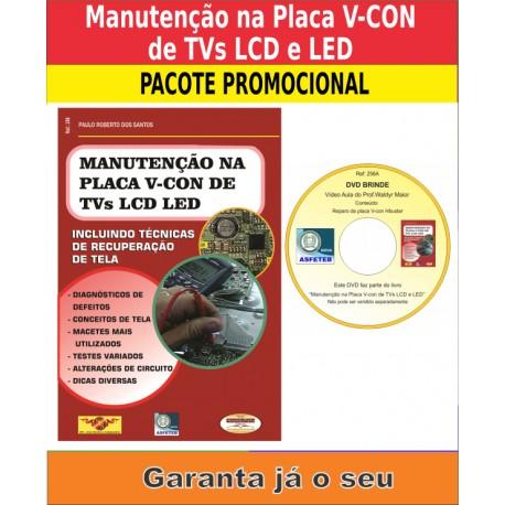 Livro e DVD aula Manutenção na Placa V-con