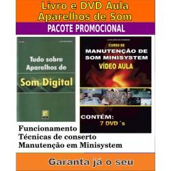 Livro e DVD aula Aparelhos de SOM