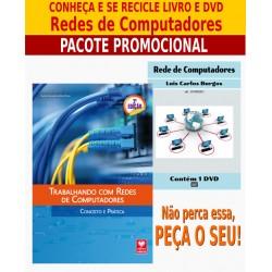 Livro e DVD aula Redes de Computadores