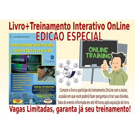 Livro e Treinamento Interativo On Line Fontes TVs LCD 22/09/18