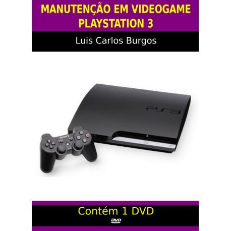 DVD aula Manutenção em Playstation 3