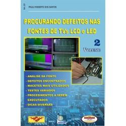 Livro Procurando Defeitos nas Fontes de TVs LCD e LED