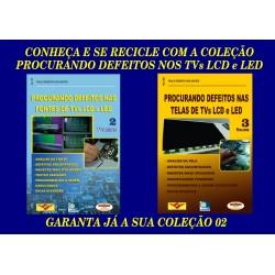 Livros Procurando Defeitos nos TVs LCD:Fontes e Telas