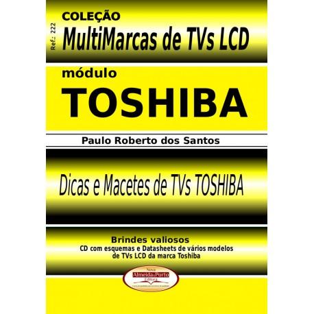 Livro Multimarcas LCD Toshiba com Brinde