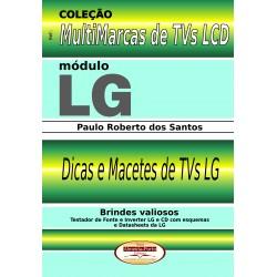 Livro Multimarcas LCD LG com Brindes