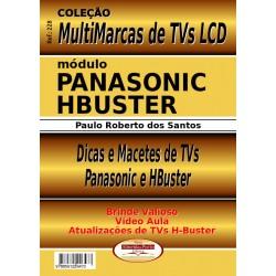 Livro Multimarcas LCD Panasonic e H.Buster com Brinde