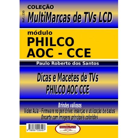 Livro Multimarcas LCD AOC,CCE e Philco com Brinde