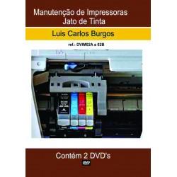 DVD aula Manutenção de Impressoras Jato de Tinta