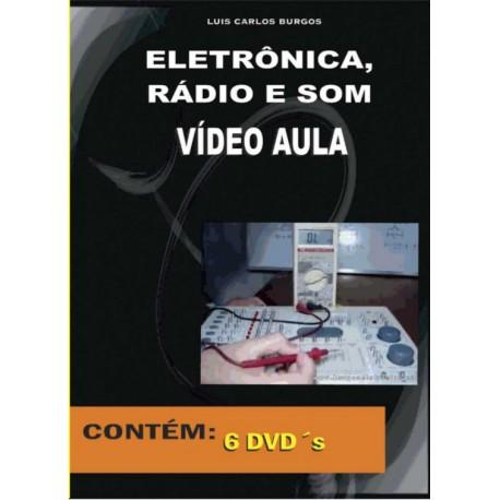 DVD aula Eletrônica,Rádio e Som.Eletrônica Básica