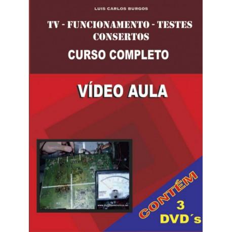 DVD aula TV/Funcionamento e Testes