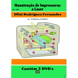 DVD aula Manutenção de Impressoras Laser