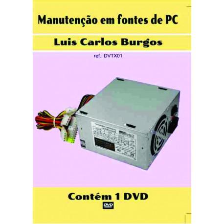 DVD aula. Manutenção em Fontes de PC