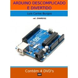 DVD aula Arduino, Descomplicado e Divertido