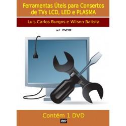 DVD aula Ferramentas Usadas nos Consertos de TVs LCD e LED