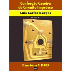 DVD aula Confecção Caseira de Placas de Circuito Impresso PCI
