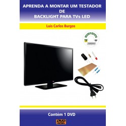DVD aula Aprenda a Montar um Testador Backlight LED
