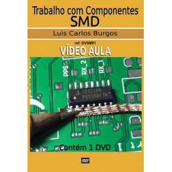 DVD aula trabalho com Componentes SMD