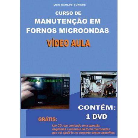 DVD aula Manutenção em Fornos Microondas