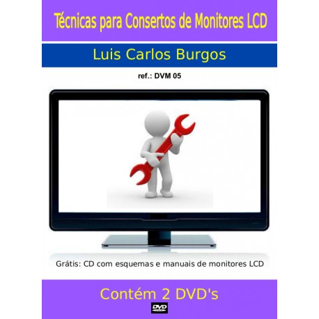 DVD aula Monitores LCD