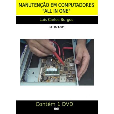 """DVD aula Computadores """"ALL ONE"""""""