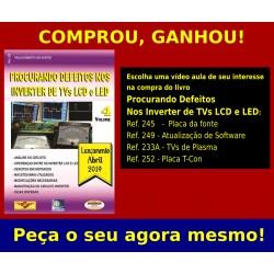 Livro Procurando Defeitos nos Inverter de TVs LCD com Brinde