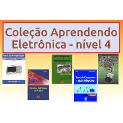 Livros Aprendendo Eletrônica Nível 4
