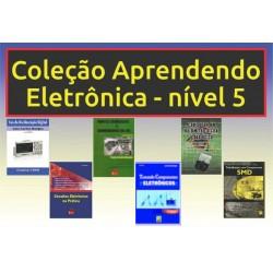 Livros Aprendendo Eletrônica Nível 5