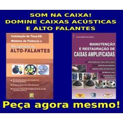 Livros Recuperação de Alto-Falante e Caixas Amplificadas