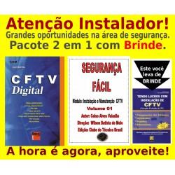 Livro e DVD aula CFTV