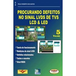 Livro Procurando Defeitos no Sinal LVDS de TVs LCD e LED
