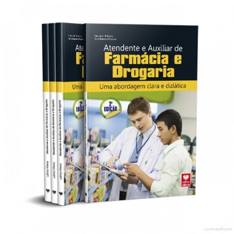 Livro Atendente e Auxiliar de Farmácia e Drogaria