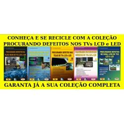 Livros Procurando Defeitos LCD:Main,Fontes,Telas,Inverter e LVDS