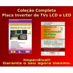 Livros Placa Inverter dos TVs LCD. Coleção Completa
