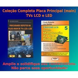 Livros Placa Principal TVs. LCD. Coleção Completa